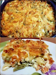 Cookbook Recipes, Pasta Recipes, Cooking Recipes, Baked Pasta Dishes, Best Comfort Food, Food Tasting, Group Meals, Greek Recipes, Different Recipes