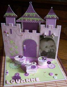 mon 1er chateau , cadeau de naissance