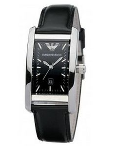 emporio armani ar0143 mens classic black leather band watch uk on emporio armani ar0121 mens classic leather black watch uk on armaniemporiowatches co uk