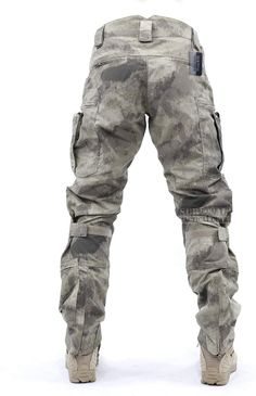 Survival Tactical Gear Men's Airsoft Wargame Tactical Pants with Knee Protection System & Air Circulation System (A-TACS AU, L) Mens Tactical Pants, Tactical Uniforms, Tactical Wear, Tactical Clothing, Airsoft, Military Gear, Military Fashion, Mens Fashion, Combat Shirt