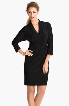 Suzi Chin for Maggy Boutique Side Gather Jersey Dress available at #Nordstrom