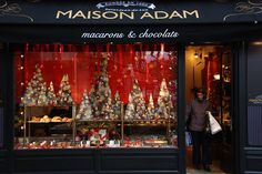 macarons and gâteaux basques at Maison Adam
