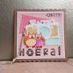 Postcard: Hoera!