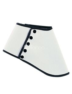 Concise White Terry Women's Shoe Covers - Milanoo.com