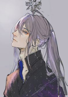 Một anh chàng tóc dài, nhưng vẫn rất nam tính và đậm chất cổ trang