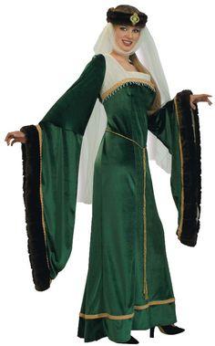 women's costume: noble lady