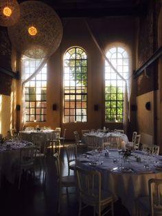 sfeer sit down dinner ronde tafels www.lute.nu Explore in Muiden van Peter Lute