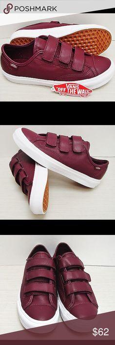 Women's Vans 6.5 Women's Vans 6.5 NWB Triple Velcro Vans Shoes Sneakers