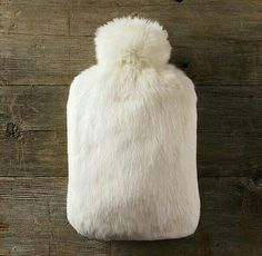 Fur hot water bag