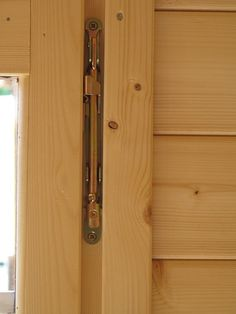 Unique EZ-Log window hinges allow windows to swing open from the side or tilt in from the top.
