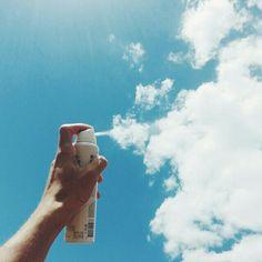 Cuando miras el cielo... Se ve como si se estuviese pintando :3 :*