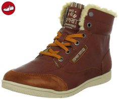 ESPRIT Randy Lu Bootie I13010, Damen Fashion Sneakers, Braun (rust 229), EU 36 - Esprit schuhe (*Partner-Link)