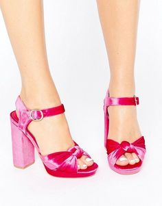 Truffle Collection Truffle Knot Platform Asos Shoes db37467ae3c