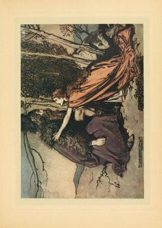 The Rhinegold & the Valkyrie by Wagner, Richard, 1813-1883; Wagner, Richard, 1813-1883; Rackham, Arthur, 1867-1939, ill  Published 1910