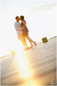 NJ & NY Photographer | Mantoloking NJ | Kate Connolly Photography | engagement | beach | kiss