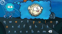 Spellyfish - Short A Words ($0.99) Learn phonics and the primary letter sounds and letter names for the alphabet, how words can be broken up into separate sounds, and how the letter sounds can be blended together to form short words.  Learn how to recognize both the lower case and upper case letters of the alphabet. In addition he/she will learn about the starting sounds of words and how the ending sounds of words can make some words rhyme with each other.