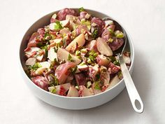 Spanish Potato Salad Recipe : Food Network Kitchen : Food Network - Pimientos, celery and green olives plus a hint of smoked paprika, give this potato salad a Spanish flair.