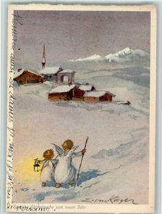 Nr. 215 Verlag Henke - Engel - Neujahr