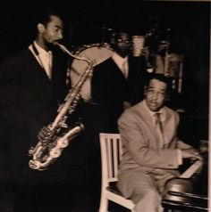 Don Byas, Wendel Marshall, Duke Ellington. Germany '59. The photographer is Susanne Schapowalow