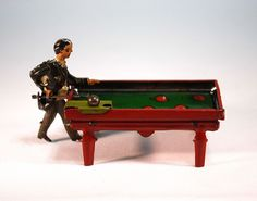 Pool Player Penny Toy by Georg Kellermann (CKO)