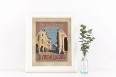 #rivieraligure #liguria #vintage #targhevintage #vimages #stampevintage #rivieraligure #tigullio