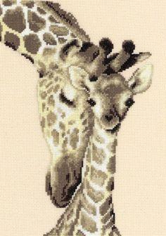 Giraffes Counted Cross-Stitch Kit