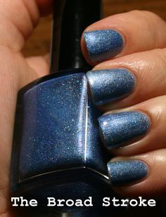 The Broad Stroke: Lacquer Convention: Much Ado About Blue