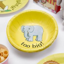 Buy Dear Zoo Paper Bowls from Tiger Feet Party. This wonderful range is inspired by the classic children's book 'Dear Zoo'. Safari Birthday Party, 1st Boy Birthday, First Birthday Parties, Birthday Ideas, Dear Zoo Party, Zoo Party Themes, Party Ideas, Party Lunch Boxes, Paper Bowls