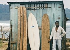 "Sandy Lamu, ""Surfing São Tomé"", São Tomé & Principe."