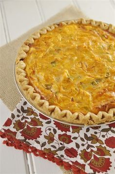 enchilada quiche i would have to make this with ground beef.  because chicken and eggs together weirds me out.