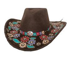pink ribbon bling cowboy hat anything pinterest. Black Bedroom Furniture Sets. Home Design Ideas