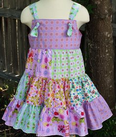 Zipa Dee Zoo Knot / Jumper Dress by fluffygirlboutique on Etsy, $45.99