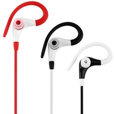 2017 New In-Ear Sports Running Active Earphone Earbuds Hook Headphone Headset free shipping