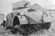 Alvis Armored security truck