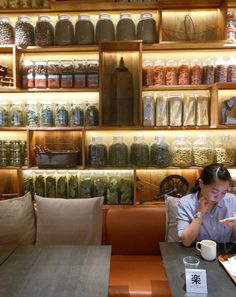 beautiful shelf merchandising at Cafe & Meal,