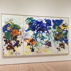 Joan Mitchell, SFMOMA #joanmitchell #sfmoma #painting