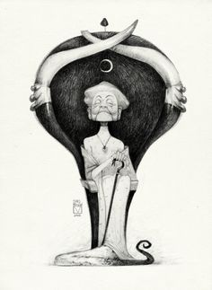 Blad Moran - Sketchtober | 016 by BladMoran