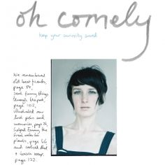 oh comely magazine - love the cover