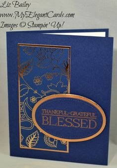 My Elegant Cards - Liz Bailey - Independent Stampin' Up! Demonstrator - Petals and Paisleys Specialty DSP - Paisleys and Posies - Stitched Shapes Framelits Dies
