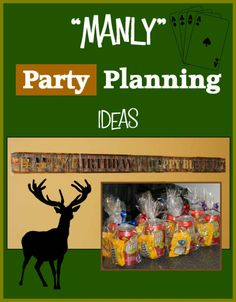 DIY Manly Party Planning Ideas