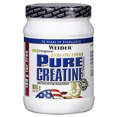 Weider Pure Creatine - Creapure Kreatin Monohydrat Pulver 600 g, Fitness & Bodybuilding, 176 Portionen Fitness Bodybuilding, Creatine Monohydrate, Neutral, Nutrition, Personal Care, Pure Products, Health, Amp, Food Portions