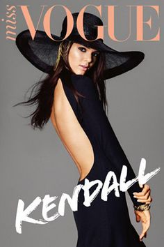 Kendall Jenner Miss Vogue