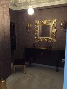 Nükhet hanımın her odası ayrı zevkli, stil sahibi evi.. | Ev Gezmesi