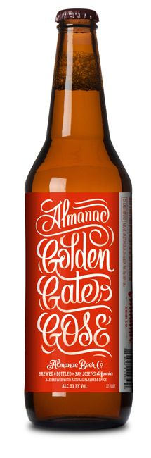 Golden Gate Gose, Almanac Beer Company, San Francisco