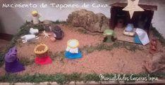Manualidades con material reciclado:Nacimiento de tapones de cava – Manualidades Caseras Inma