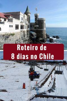 Ficamos oito dias no Chile. Conhecemos Santiago, Valparaíso, Viña del Mar, Farellones e o Vale Nevado. Descubra quais atrações conhecemos nestes locais. #chile #dicasdeviagens #ferias #vallenevado