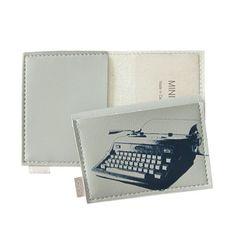Typewriter Mini Wallet, just really cute