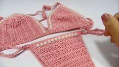 Biquíni de crochê passo a passo | #1 - JNY Crochê