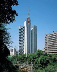 Century Tower Bunkyo-ku in Tokyo, Japan, Sir Norman Foster, architect Seattle Skyline, New York Skyline, Hopkins Architects, Urban Design Plan, Foster Partners, Architecture Photo, Foster Architecture, Good Environment, Norman Foster