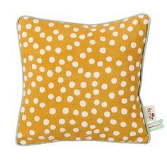 Dots kussen geel | Ferm Living